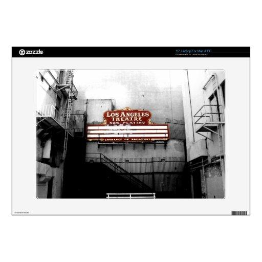 Vintage Los Angeles Theatre Sign Skin For Laptop