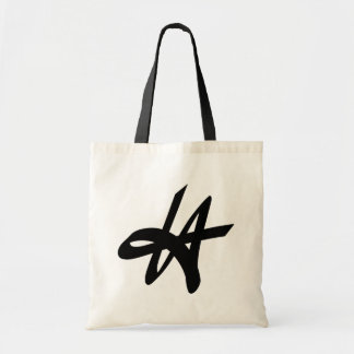 Vintage Los Angeles typography tote bag