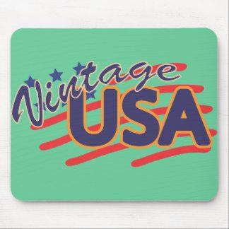 Vintage los E.E.U.U. Mouse Pads