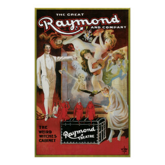 Vintage los Great Raymond & Company Poster