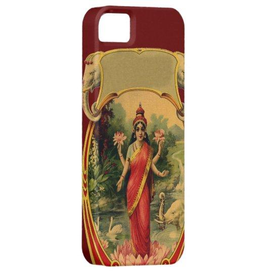 vintage Lotus Flower Hindu Goddess Lakshmi iPhone SE/5/5s Case
