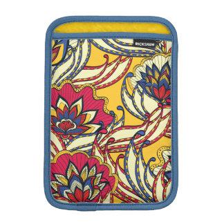 Vintage Lotus Flowers iPad Mini Sleeve