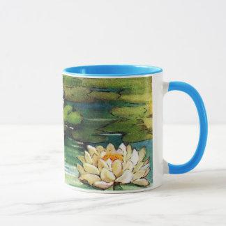 Vintage Lotus Mug