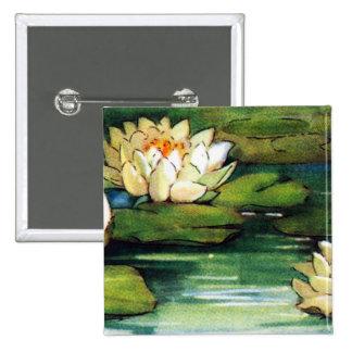 Vintage Lotus Pin