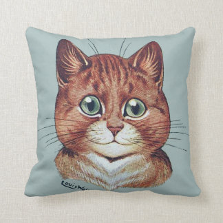 Vintage Louis Wain Cat Portraits Cushion Pillows