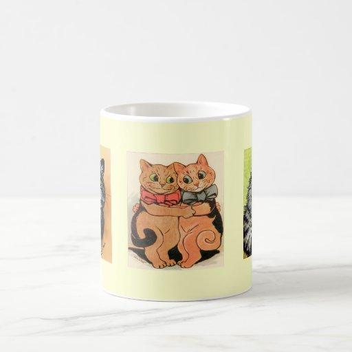 Vintage Louis Wain Cats Gift Mug