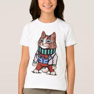 Vintage Louis Wain Sporty Cat Mascot T-Shirt
