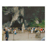 Vintage Lourdes, la gruta Impresiones