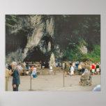 Vintage Lourdes, The Grotto Poster