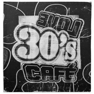 Vintage Love 30's Cafe - Cloth Napkins