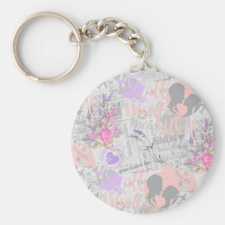Vintage Love, All I Need is You Keychain