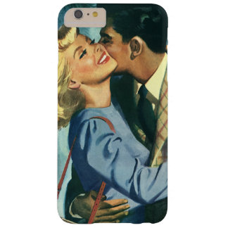 Vintage Love and Romance, Christmas Dance Barely There iPhone 6 Plus Case