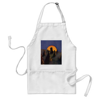Vintage Love and Romance, Harvest Moonlight Adult Apron