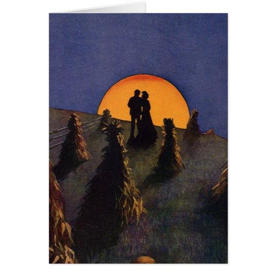 Vintage Love and Romance, Harvest Moonlight Card