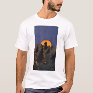 Vintage Love and Romance, Harvest Moonlight T-Shirt
