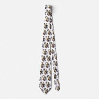 Vintage Love and Romance, Newlyweds on Cruise Ship Tie