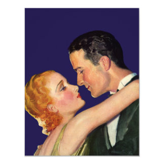 Vintage Love and Romance, Retro Hollywood Movies Card