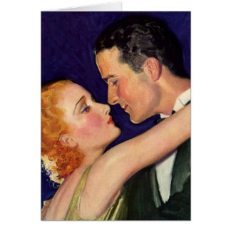 Vintage Love and Romance Retro Hollywood Thank You Card