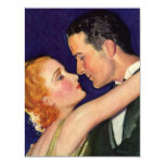 Vintage Love and Romance, Romantic Hollywood Personalized Invites