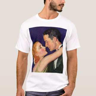 Vintage Love and Romance, Romantic Hollywood T-Shirt