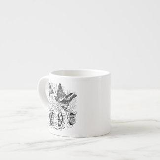 Vintage Love Birds Apparel and Gifts Espresso Cup