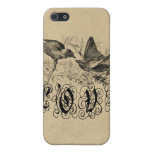Vintage Love Birds Apparel and Gifts iPhone 5 Case
