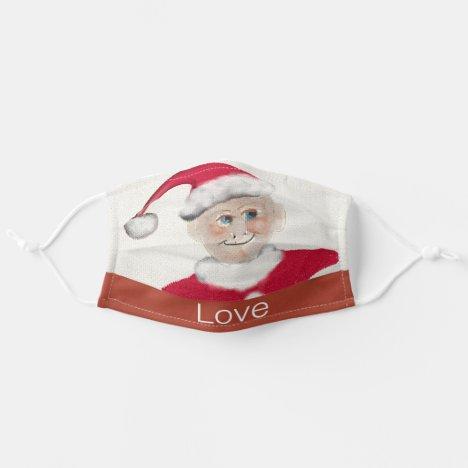 Vintage Love Elf Smiling Cotton/Poly Blend