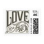 Vintage Love Flourish Stamps