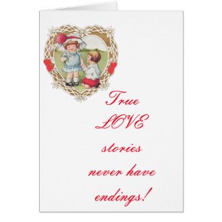 Vintage Love in a Heart ! Card