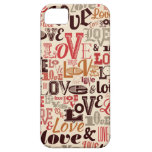 Vintage Love iPhone 5 Cover
