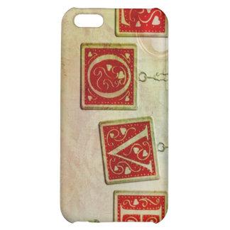 Vintage Love iPhone 5C Case