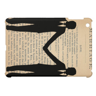 Vintage Love & Marriage Gay Wedding Longfellow iPad Mini Cover