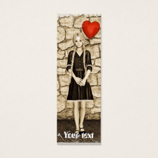 Vintage Love Mini Business Card