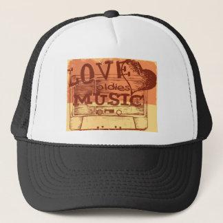 Vintage Love oldies music 5 Trucker Hat