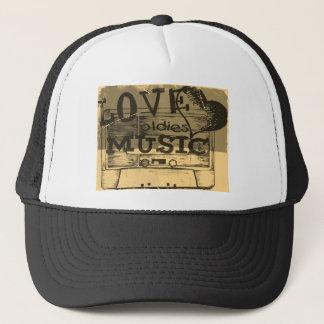Vintage Love oldies music 6 Trucker Hat