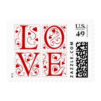 Vintage Love Postage