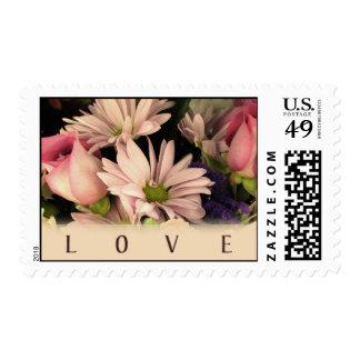 Vintage Love Postage Stamps