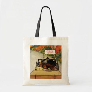 Vintage Love, Road Closed Proceed at Your Own Risk Tote Bag