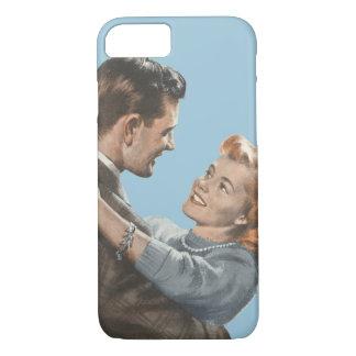 Vintage Love Romance Newlyweds Shall We Dance? iPhone 7 Case
