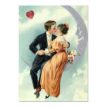 Vintage Love, Romance, Romantic, Save the Date 5x7 Paper Invitation Card