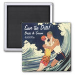Vintage Love, Romance, Romantic, Save the Date Refrigerator Magnets