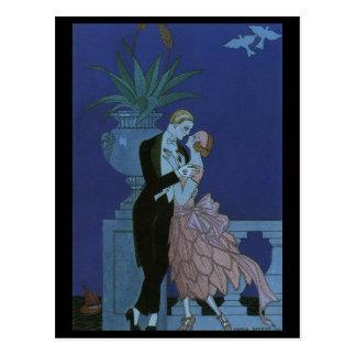 Vintage Love, Romance, Romantic, Save the Date Postcards