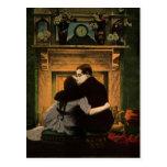 Vintage Love, Romance, Romantic, Save the Date Post Card