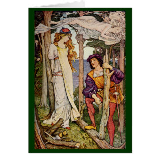 Vintage - Love - The Tempest Greeting Card