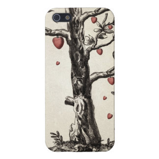 Vintage Love Tree Covers For iPhone 5