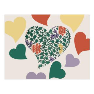 Vintage Love Valentine Post Cards