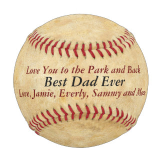 Vintage Love You To The Park & Back Dad Baseball