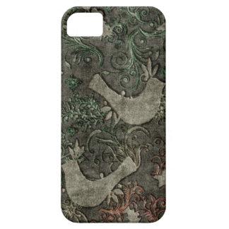 Vintage LoveBirds Embossed Print Case iPhone 5 iPhone 5 Cover