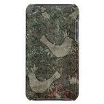 Vintage LoveBirds Embossed Print iPod Touch Barely There iPod Cover