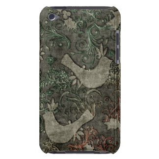 Vintage LoveBirds Embossed Print iPod Touch Case-Mate iPod Touch Case